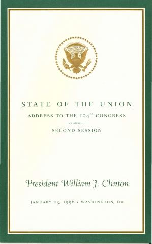 State of the Union 1996